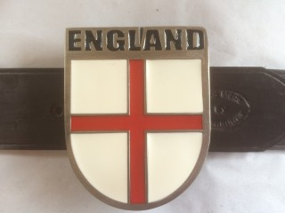 Plate Belt England Shield