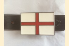 Plate Belt - English Flag